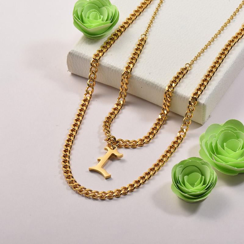 Collares de Acero Inoxidable para Mujer -SSNEG142-26670