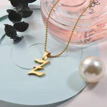 Collares de Acero Inoxidable para Mujer -SSNEG142-26738