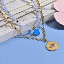 Collares de Acero Inoxidable para Mujer -BRNEG142-26656