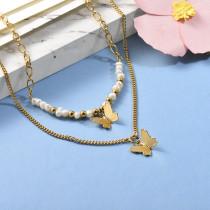 Collares de Acero Inoxidable para Mujer -BRNEG142-26658