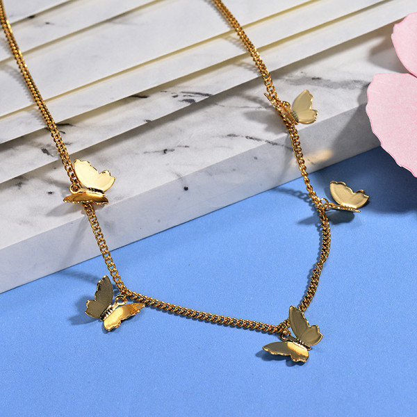 Collares de Acero Inoxidable para Mujer -BRNEG142-26651