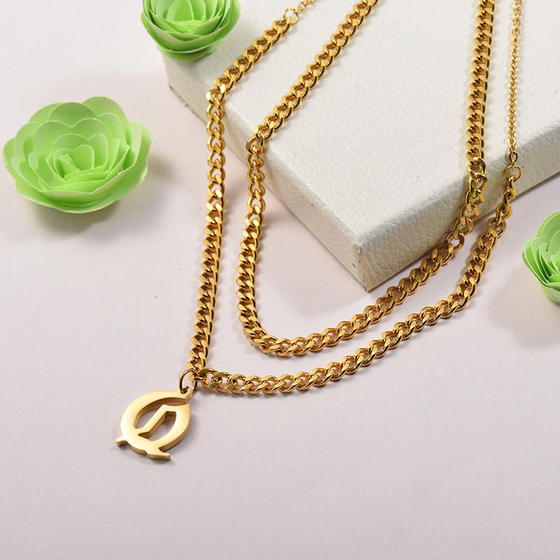 Collares de Acero Inoxidable para Mujer -SSNEG142-26682