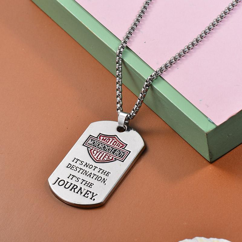 Collares de Acero Inoxidable para Mujer -SSNEG203-27457