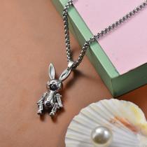 Collares de Acero Inoxidable para Mujer -SSNEG203-27462