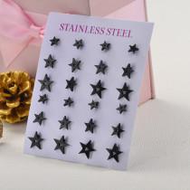 Sets de Aretes de Acero Inoxidable para Mujer -SSEGG139-27523