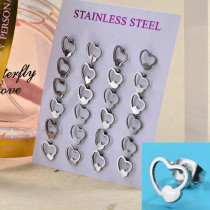 Sets de Aretes de Acero Inoxidable para Mujer -SSEGG139-27571