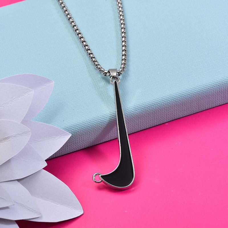 Collares de Acero Inoxidable para Mujer -SSNEG203-27448
