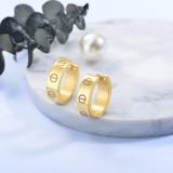 Aretes de Acero Inoxidable para Mujer -SSEGG157-27574