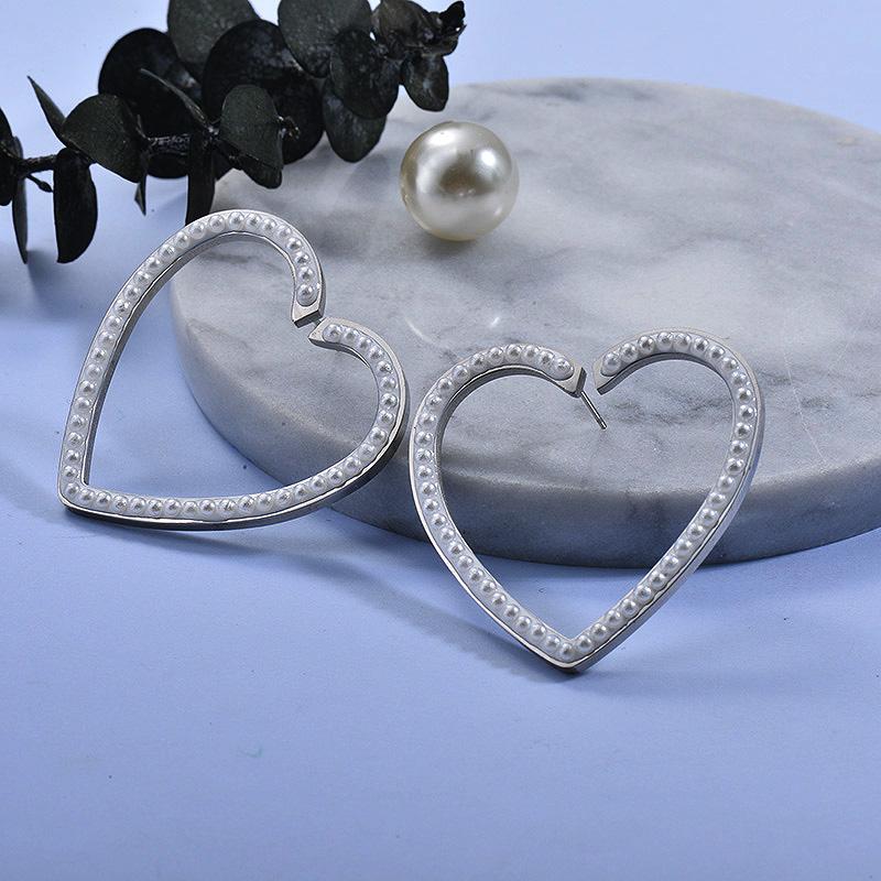 Aretes de Acero Inoxidable para Mujer -SSEGG157-27578