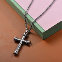 Collares de Acero Inoxidable para Mujer -SSNEG203-27468