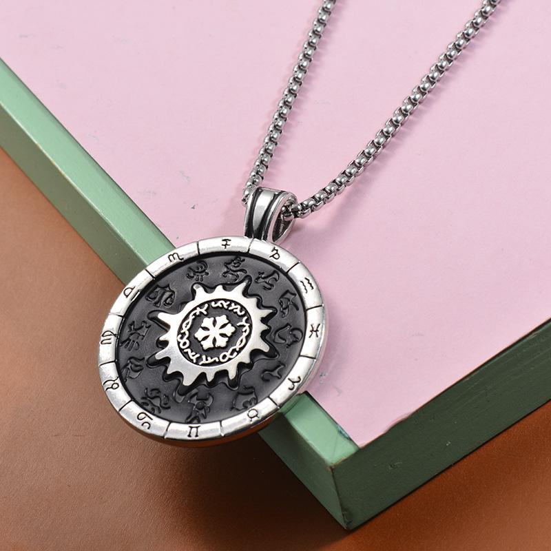 Collares de Acero Inoxidable para Mujer -SSNEG203-27460