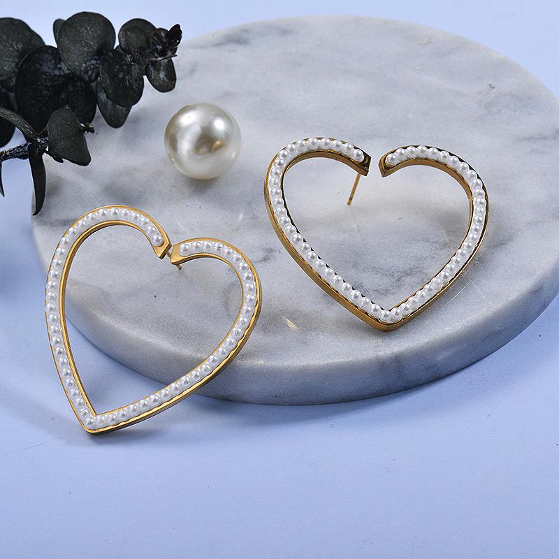 Aretes de Acero Inoxidable para Mujer -SSEGG157-27575