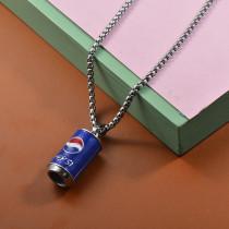 Collares de Acero Inoxidable para Mujer -SSNEG203-27472
