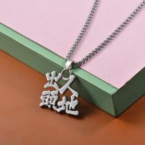 Collares de Acero Inoxidable para Mujer -SSNEG203-27471