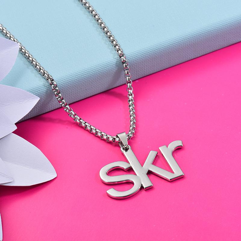 Collares de Acero Inoxidable para Mujer -SSNEG203-27428
