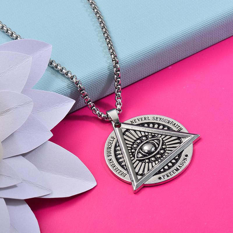 Collares de Acero Inoxidable para Mujer -SSNEG203-27446