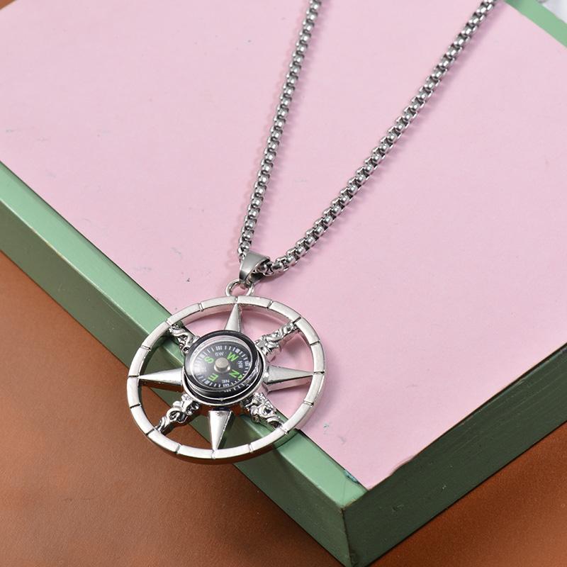 Collares de Acero Inoxidable para Mujer -SSNEG203-27465