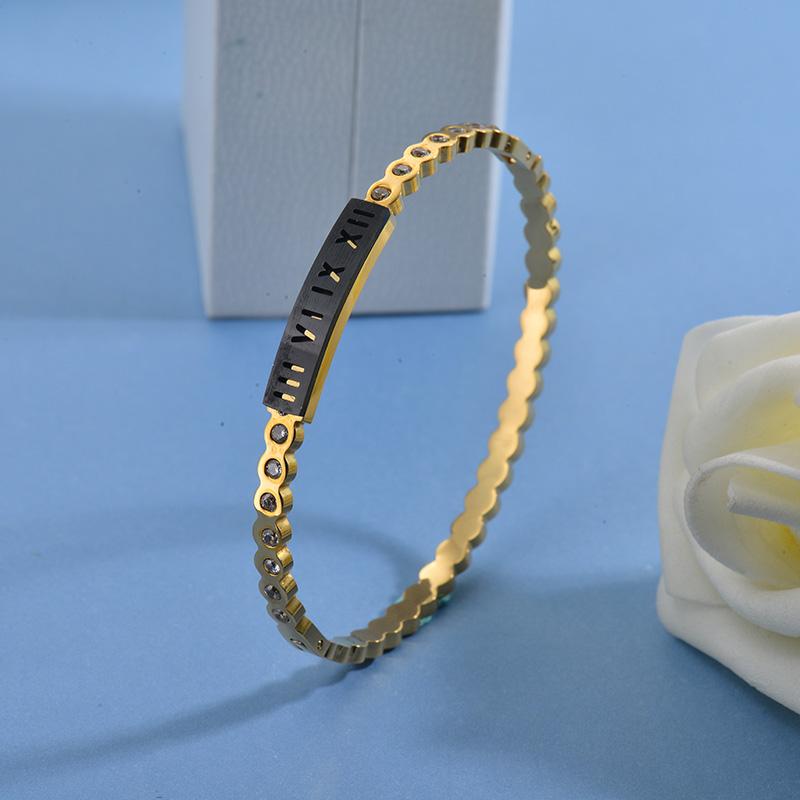 Pulseras de Acero Inoxidable para Mujer -SSBTG40-27756