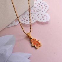 Collares de Acero Inoxidable para Mujer -SSNEG142-27856