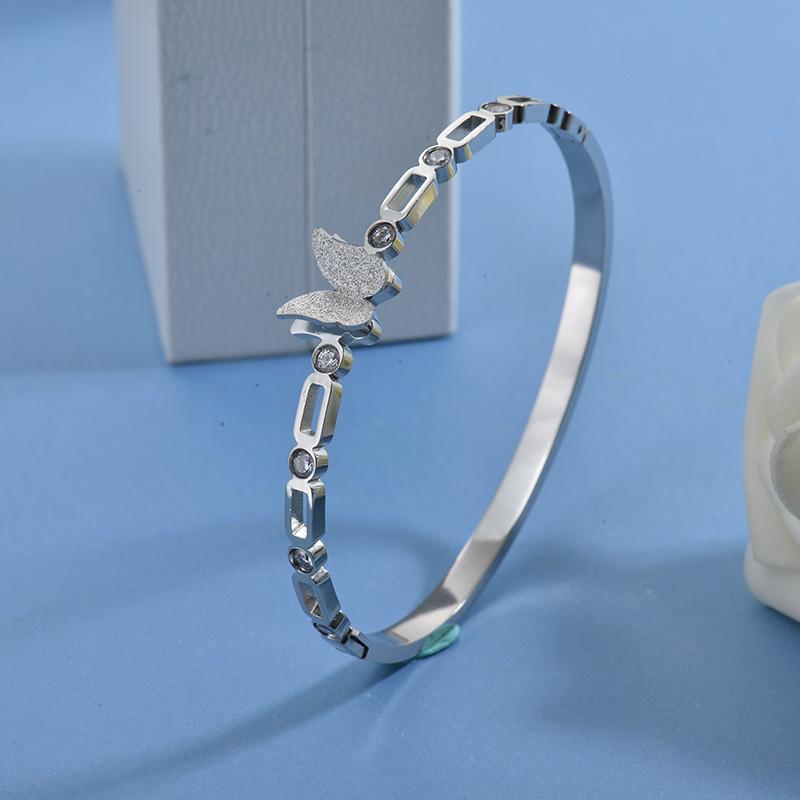 Pulseras de Acero Inoxidable para Mujer -SSBTG40-27753