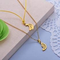 Collares de Acero Inoxidable para Mujer -SSNEG142-28011