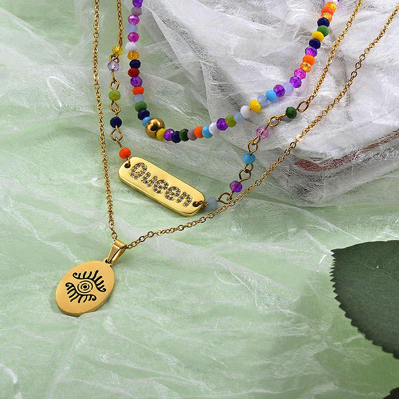 Collares de Laton para Mujer -BRNEG142-27862