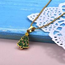 Collares de Acero Inoxidable para Mujer -SSNEG142-27853
