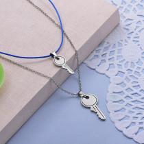 Collares de Acero Inoxidable para Mujer -SSNEG142-28010