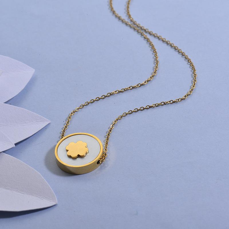 Collares de Acero Inoxidable para Mujer -SSNEG129-27717