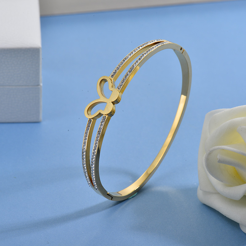 Pulseras de Acero Inoxidable para Mujer -SSBTG40-27759