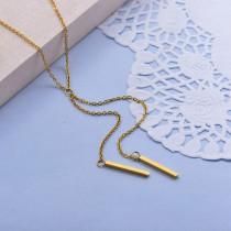 Collares de Acero Inoxidable para Mujer -SSNEG142-28013