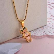 Collares de Acero Inoxidable para Mujer -SSNEG142-27854