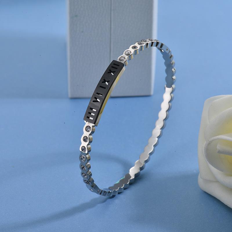 Pulseras de Acero Inoxidable para Mujer -SSBTG40-27755