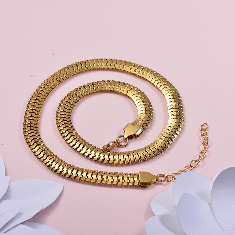 Collares de Acero Inoxidable para Mujer -SSNEG143-27677