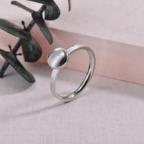 Anillos de Acero Inoxidable para Mujer -SSRGG126-27743