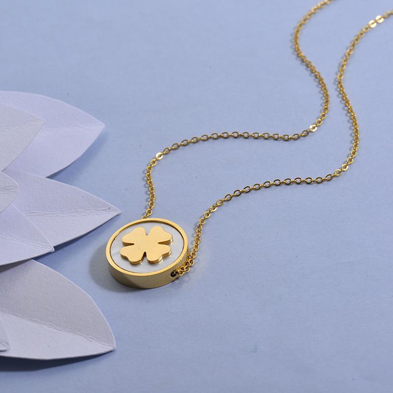 Collares de Acero Inoxidable para Mujer -SSNEG129-27716