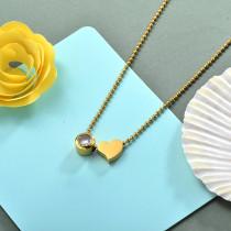 Collares de Acero Inoxidable para Mujer -SSNEG142-28176