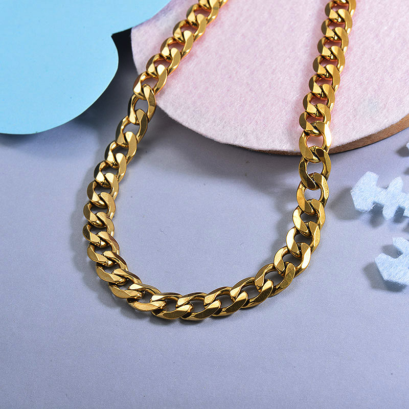 Cadenas de Acero Inoxidable para Mujer -SSNEG143-28739