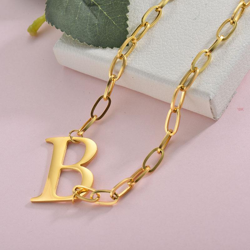 Collares de Acero Inoxidable para Mujer -SSNEG157-28424