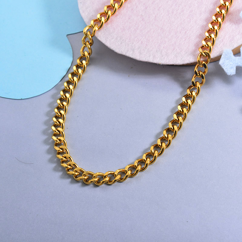 Cadenas de Acero Inoxidable para Mujer -SSNEG142-28724