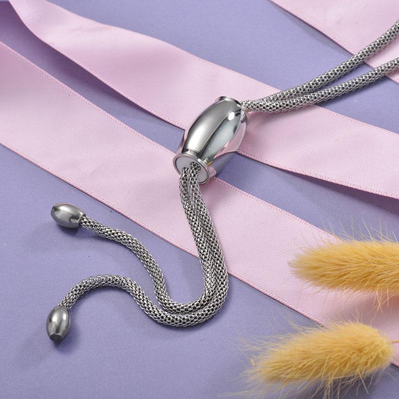 Collares de Acero Inoxidable para Mujer -SSNEG129-28667