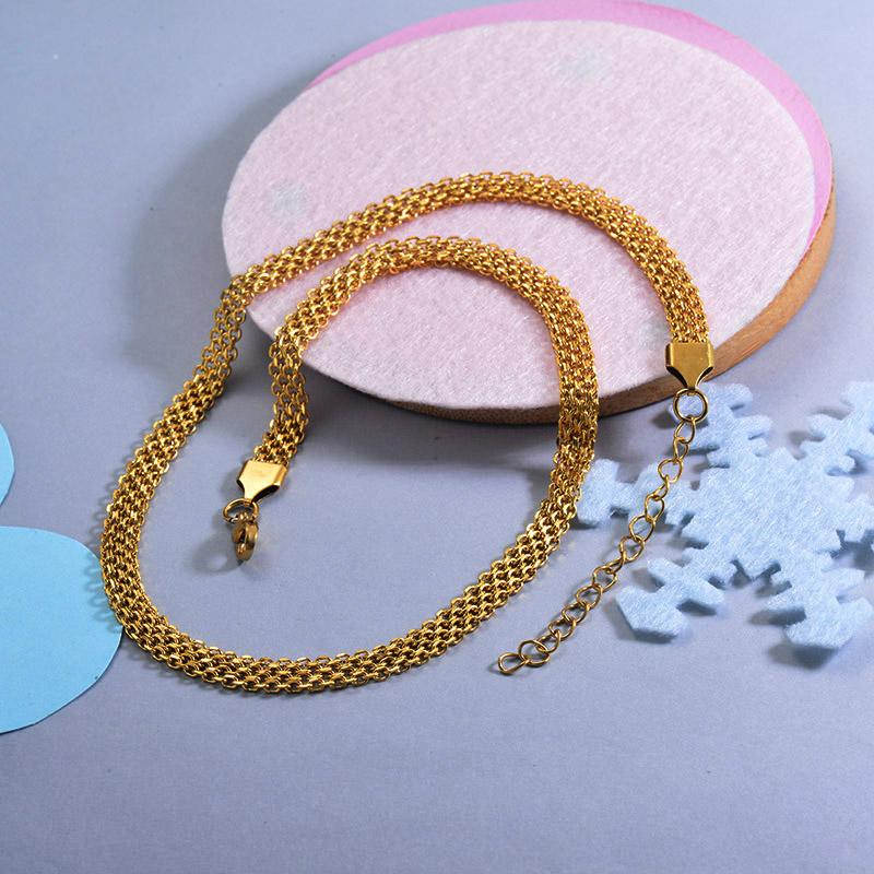 Cadenas de Acero Inoxidable para Mujer -SSNEG143-28738