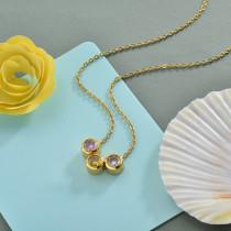 Collares de Acero Inoxidable para Mujer -SSNEG142-28174