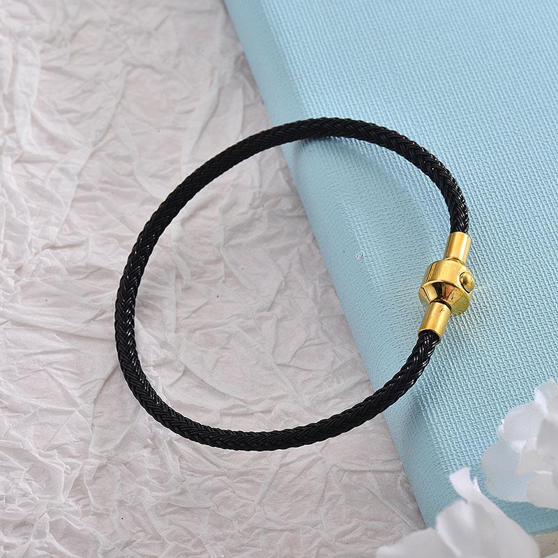 Pulseras de Acero Inoxidable para Mujer -SSBTG18-28257