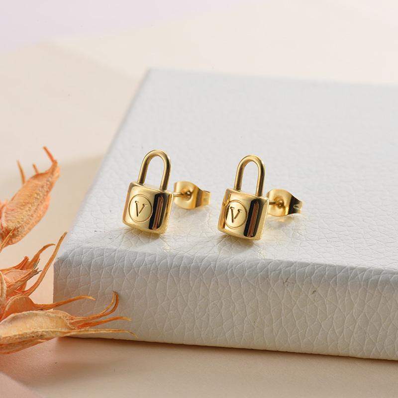 Aretes de Acero Inoxidable para Mujer -SSEGG157-28442