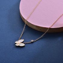 Collares de Acero Inoxidable para Mujer -SSNEG157-28417