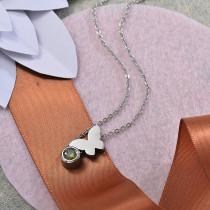 Collares de Acero Inoxidable para Mujer -SSNEG142-28206