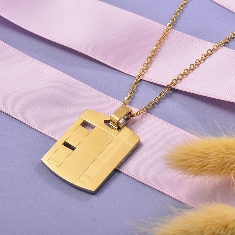 Collares de Acero Inoxidable para Mujer -SSNEG129-28669