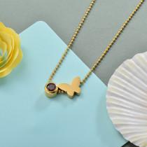 Collares de Acero Inoxidable para Mujer -SSNEG142-28175