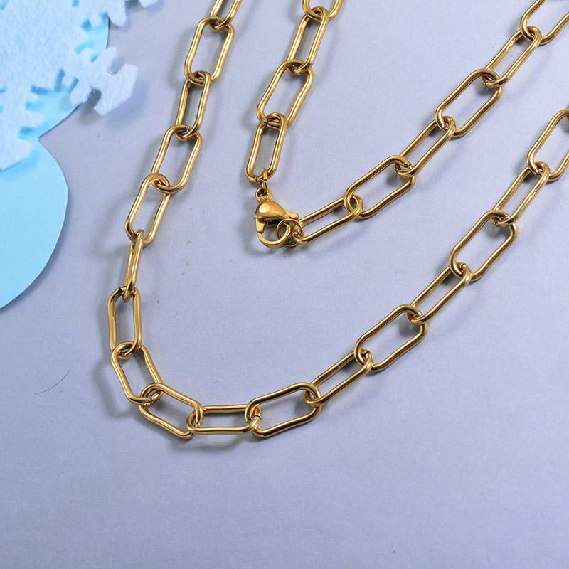 Cadenas de Acero Inoxidable para Mujer -SSNEG142-28725